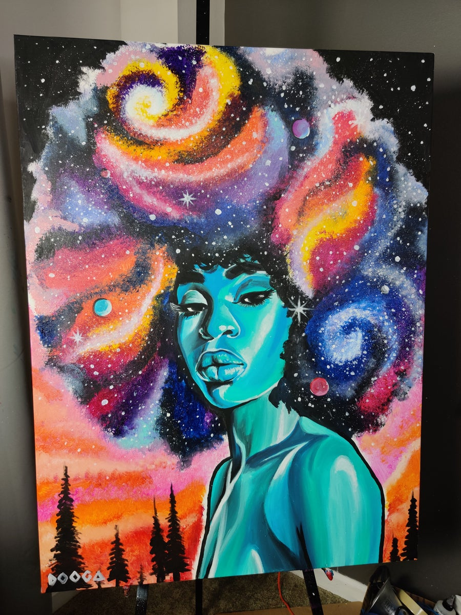 Image of Infinite - Canvas Print