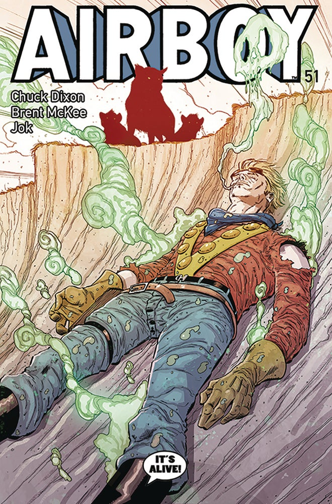 Image of AIRBOY #51 (Standard Cover)