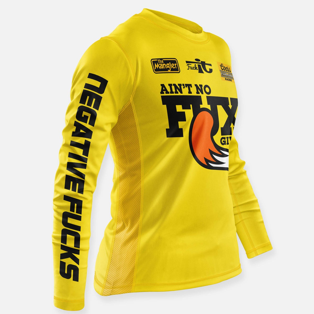 Image of NO FUX JERSEY YELLOW