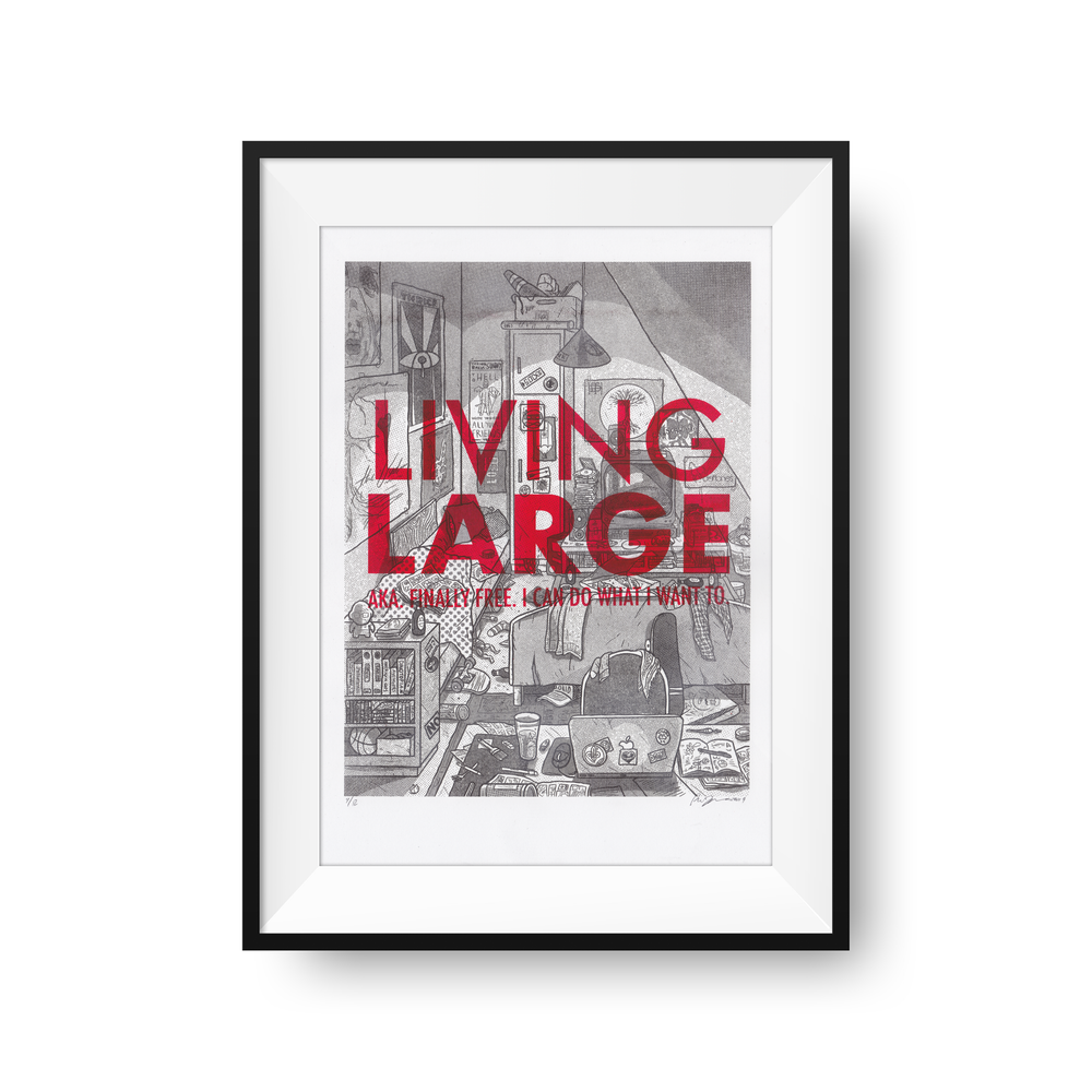 Image of Living Large