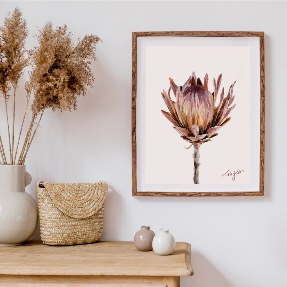 Image of Protea in Neutrals