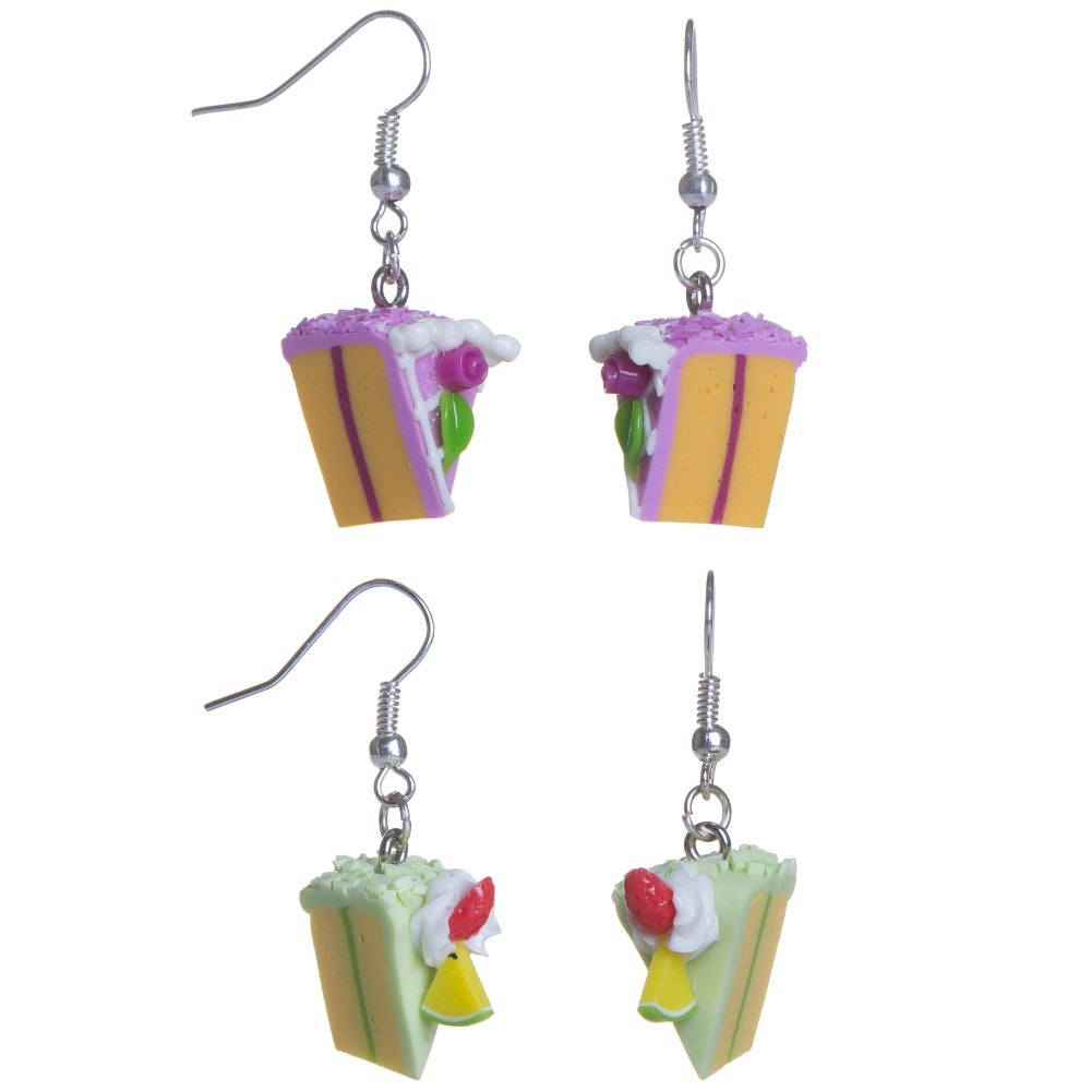 Image of  Cake Dangling Earrings