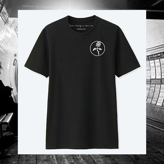 Image of Seanloui Rose - Black - Shirt