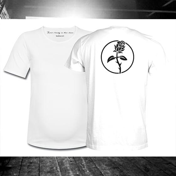 Image of Seanloui Rose - White Shirt