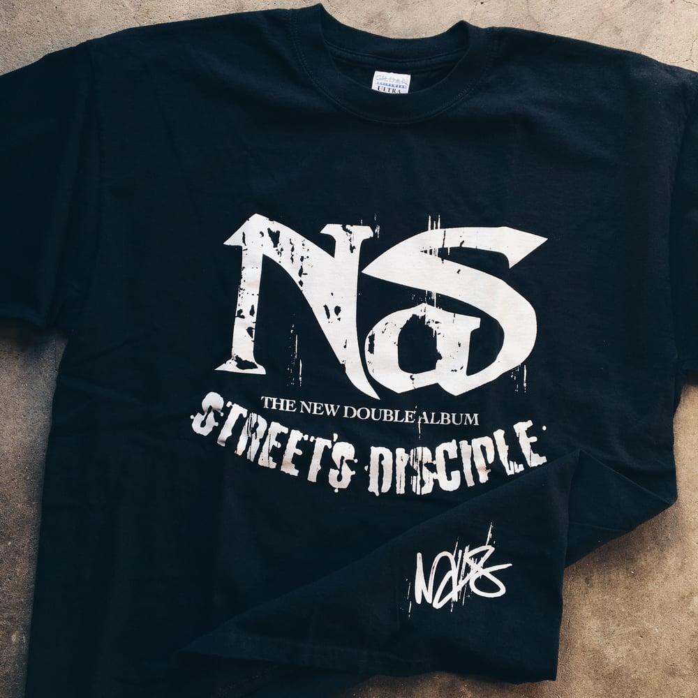 Image of Original 2004 Nas Street's Disciple Tee.