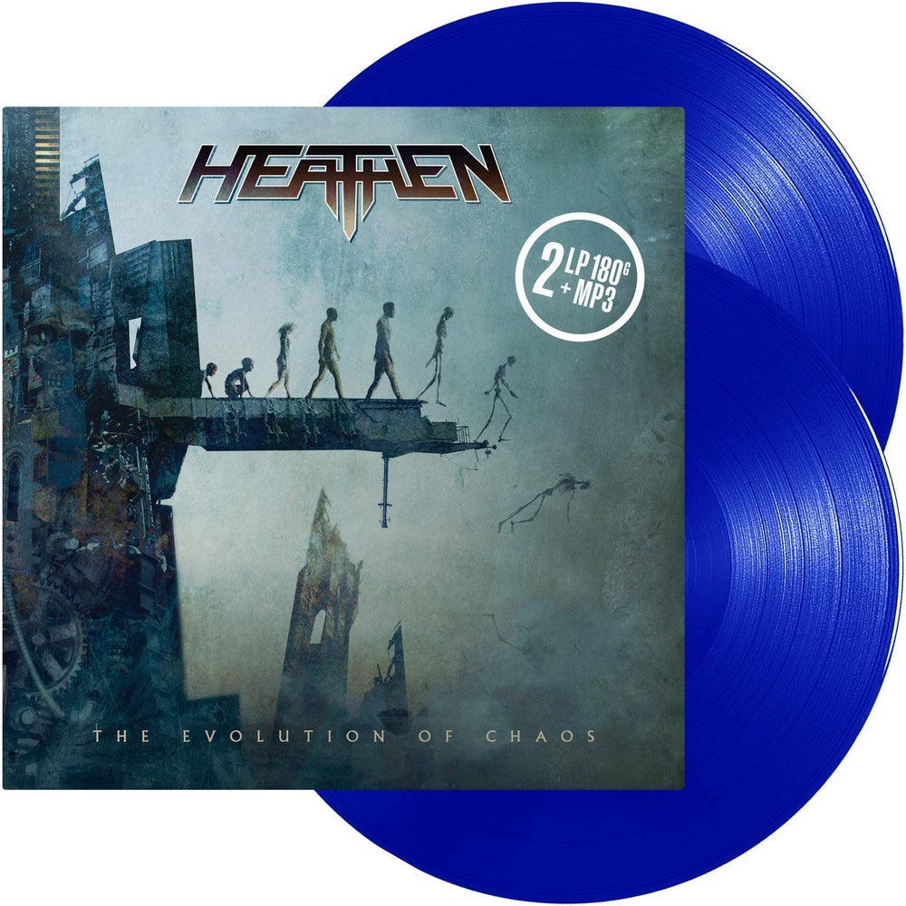 Image of The Evolution Of Chaos 2LP Blue Transparent Vinyl (2020 Reissue w/ Bonus Track)