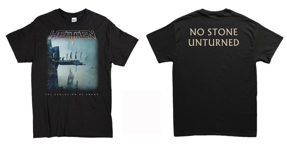 Image of The Evolution Of Chaos 2LP (2020 Reissue) + T-Shirt/Long Sleeve/Hoodie Bundle
