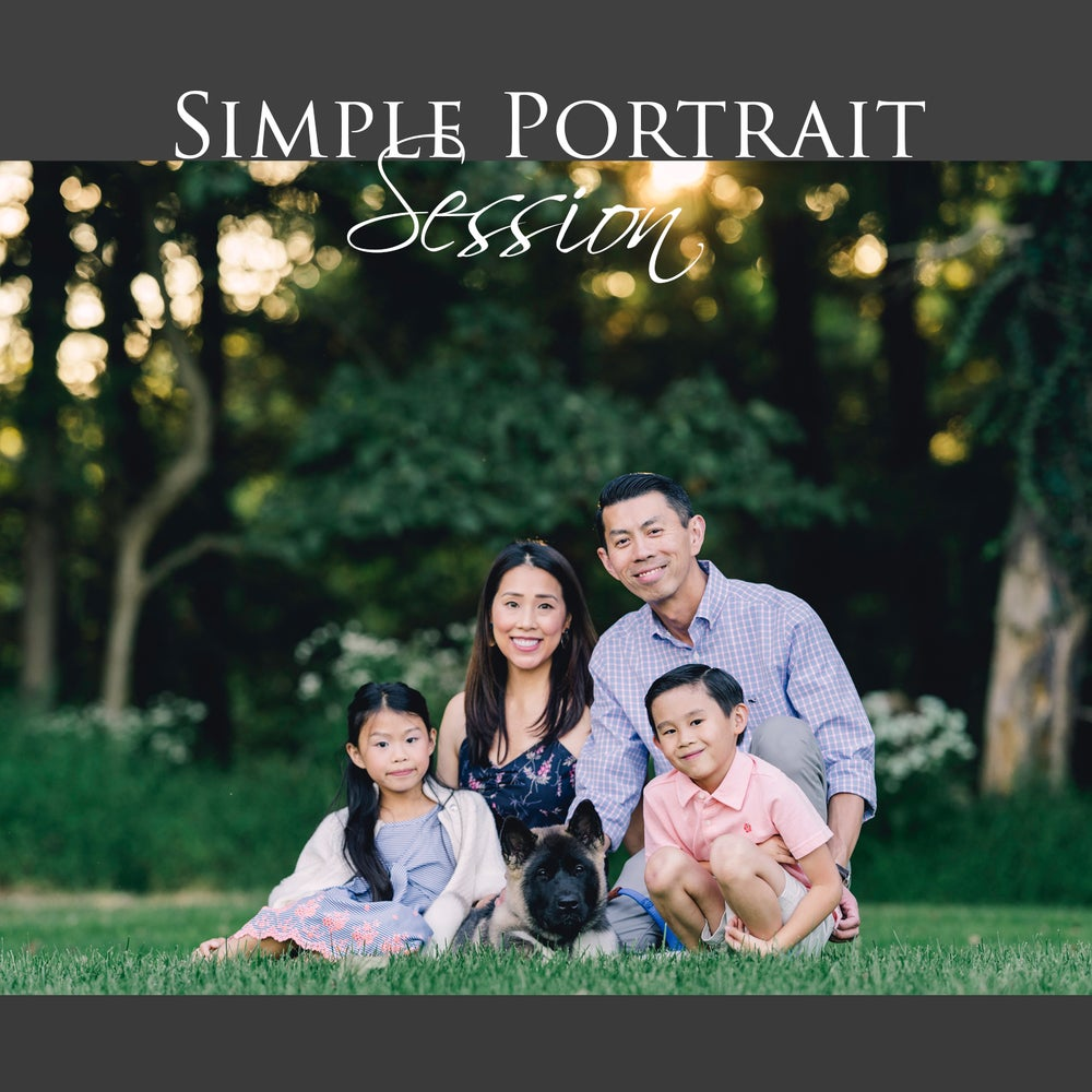 Image of Simple Portrait Session