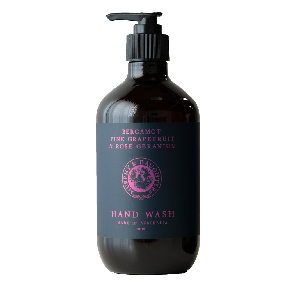 Image of Hand & body wash - Bergamot, Pink Grapefruit and Rose Geranium