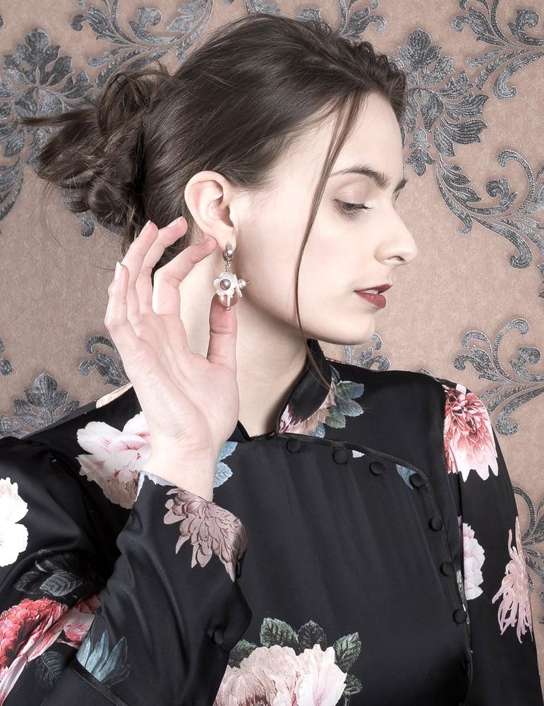 Image of Blüten -Ohrringe