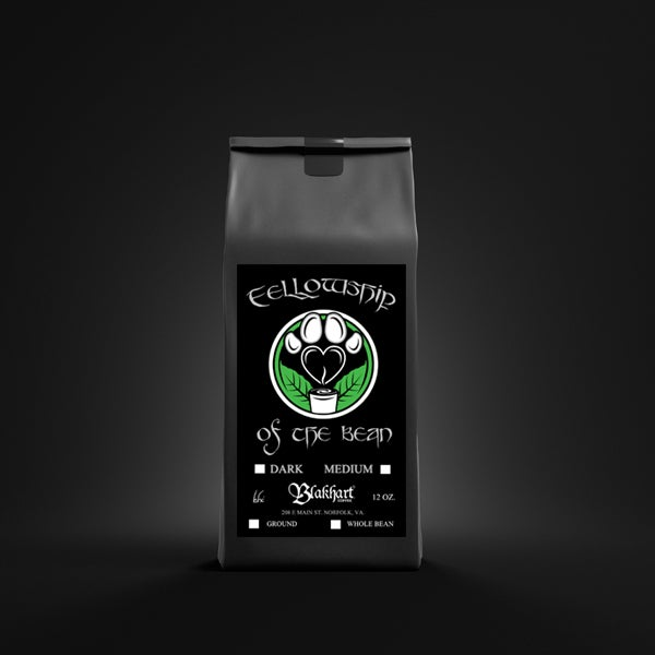 "Image of ""FELLOWSHIP OF THE BEAN"" MEDIUM BLEND WHOLE BEAN"