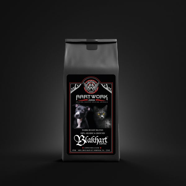 "Image of ""AARTWORK ORG"" DARKER ROAST BLEND & TSHIRT"