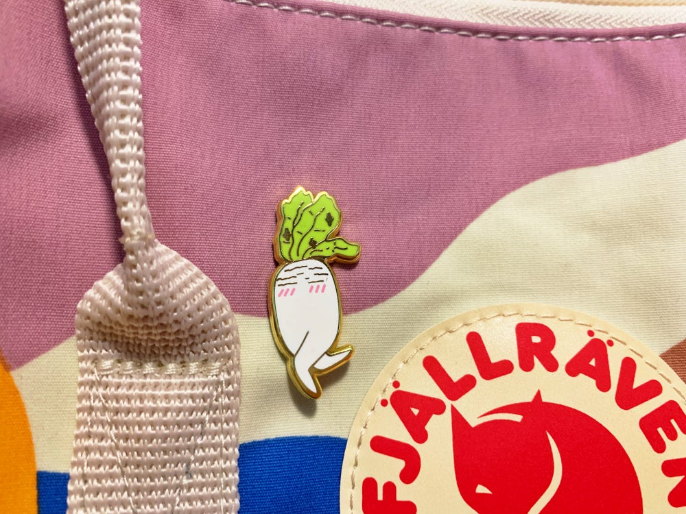 Image of Daikon Enamel Pin