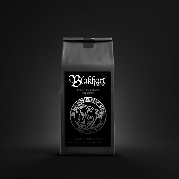 "Image of ""DOGS OF DESTINY"" DARK ROAST GROUND COFFEE & T-SHIRT PAK"