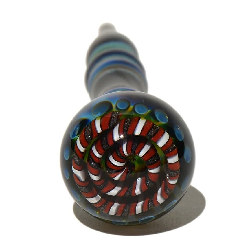 Image of Dabber with Implosion Marble with Stand