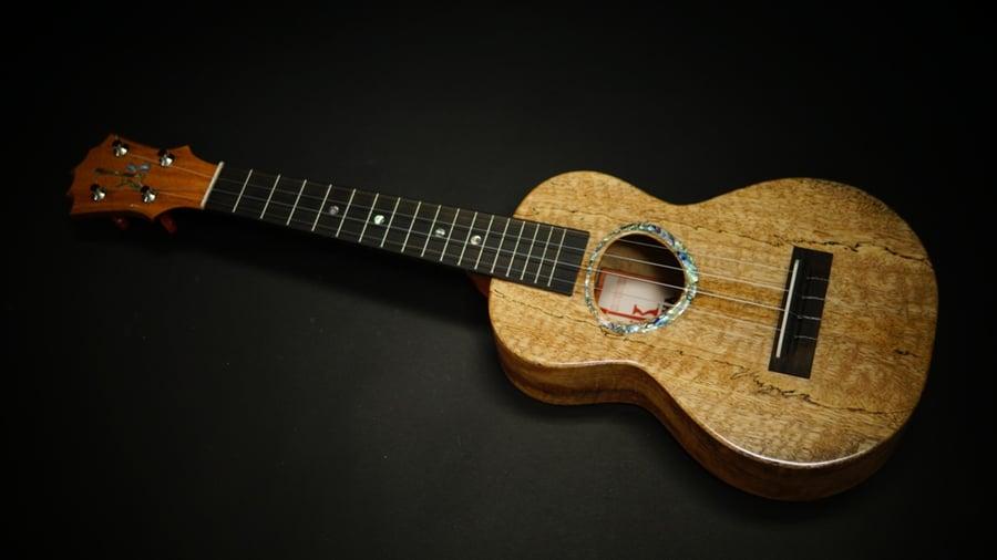 Image of KoAloha KCMR-00 Curly Mango Rosette Custom Concert
