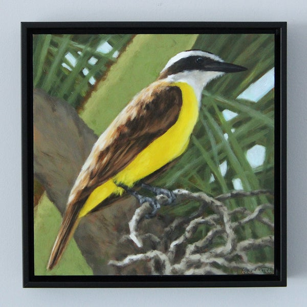 "Image of ""Great Kiskadee"" Original Oil Painting"