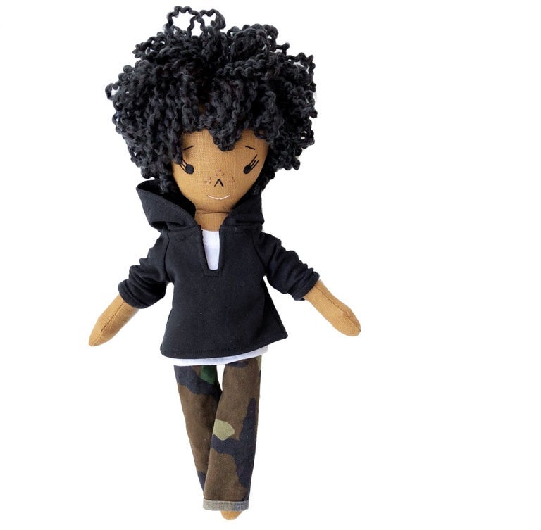 Jordan Handmade Keepsake Doll (PLEASE NOTE: THIS ORDER WILL SHIP ON OR BEFORE NOV 30TH)