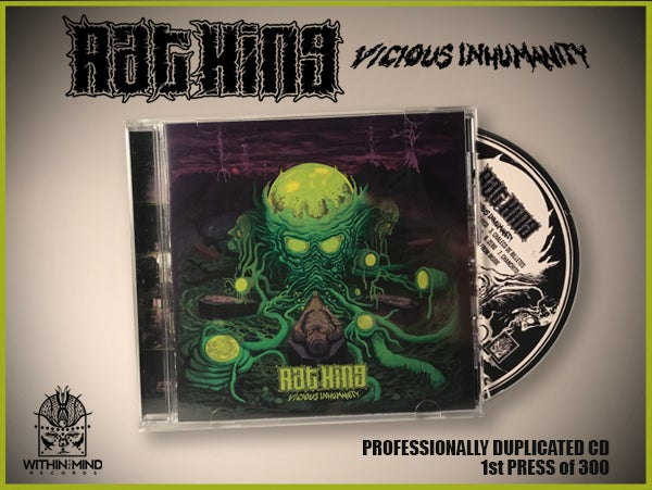 Image of Rat King - Vicious Inhumanity CD