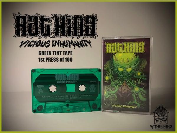 Image of Rat King - Vicious Inhumanity TAPE w/ download