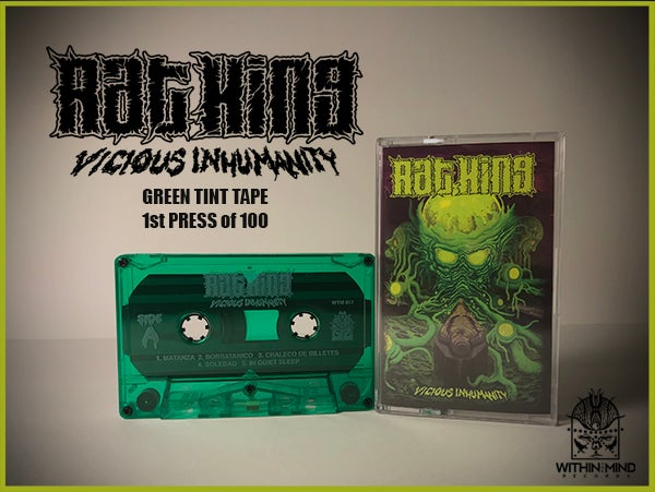 Image of Rat King - Vicious Inhumanity TAPE w/ download