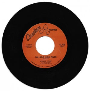 "Image of 7"" Repro. Ronnie Cook & The Gaylads : Goo Goo Muck.   Ltd Edition."