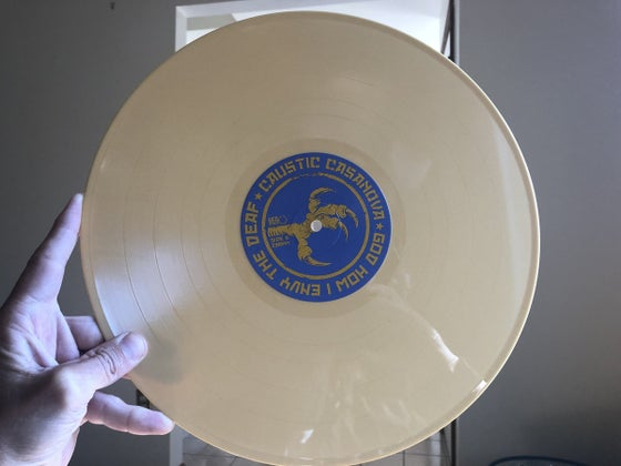 Image of God How I Envy The Deaf Brilliant Yellow Vinyl