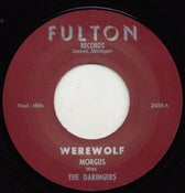 "Image of 7"" Repro. Morgus & The Daringers : Werewolf / The Morgus Creep."