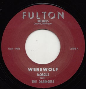 "Image of 7"" Repro. Morgus & The Daringers : Werewolf / The Morgus Creep."