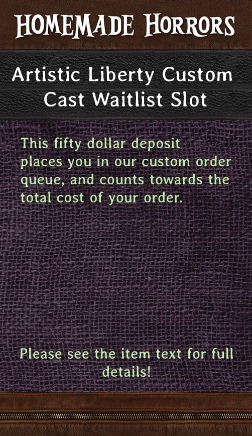 Image of Artistic Liberty Custom Waitlist Slot