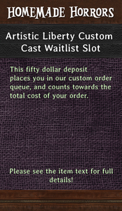 Image of Artistic Liberty Custom Waitlist Slot