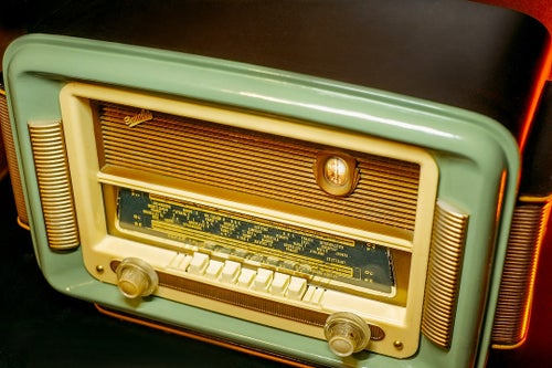 Image of SONOLOR SATURNE (1955) RADIO D'EPOCA BLUETOOTH