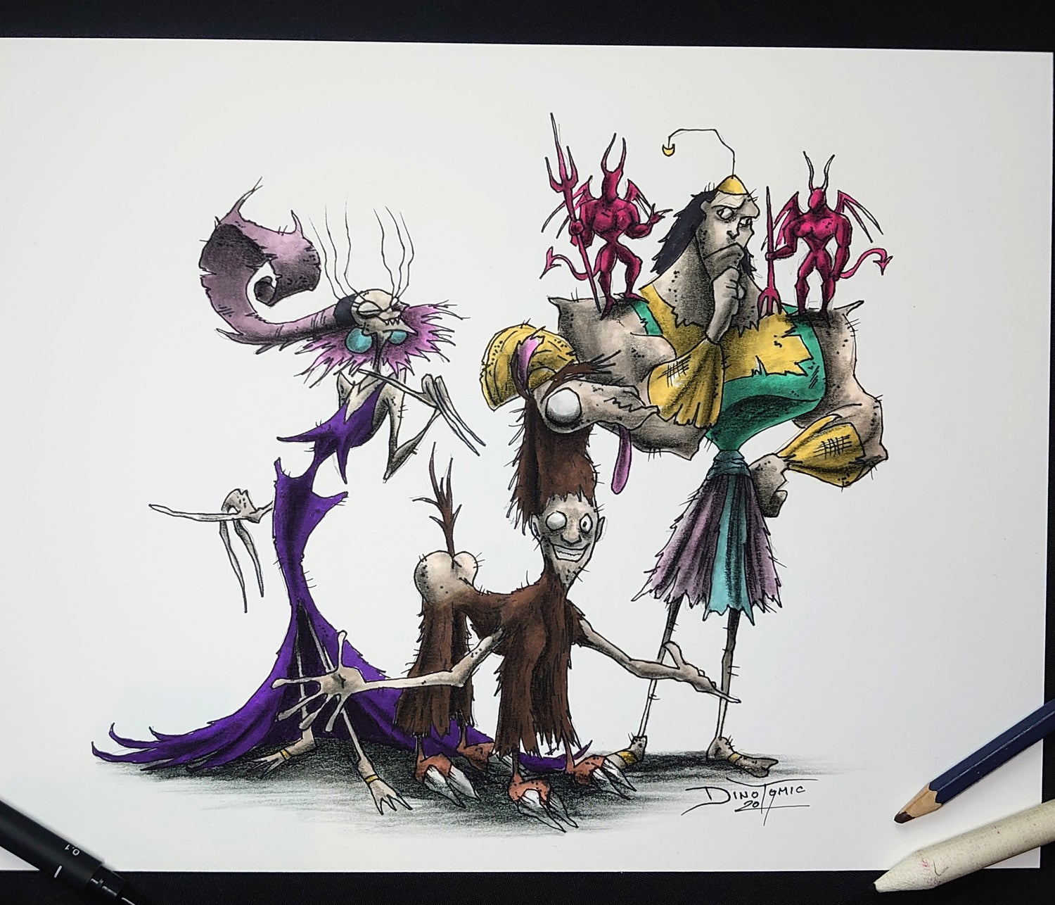 Image of #151 Emperors new Groove Creepyfied