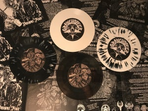 "Image of Gravehuffer - Demon Face​/​Stalingrad's Cross (7""EP)"