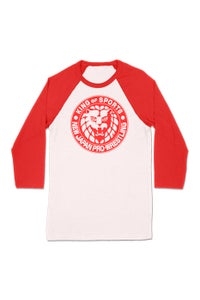 Image of NJPW Classic Logo Red T-Shirt