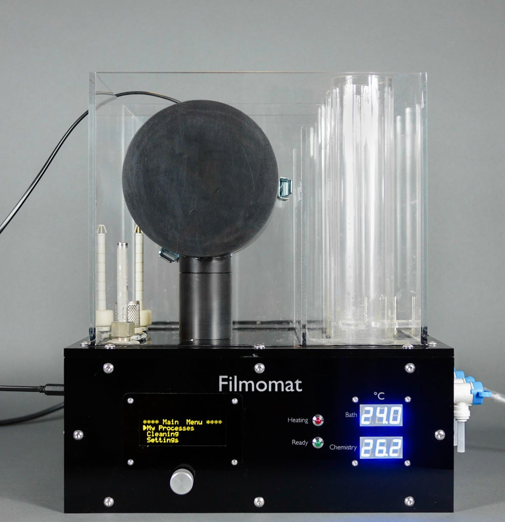 Image of Filmomat 2020: Compact, Programmable Film Processor