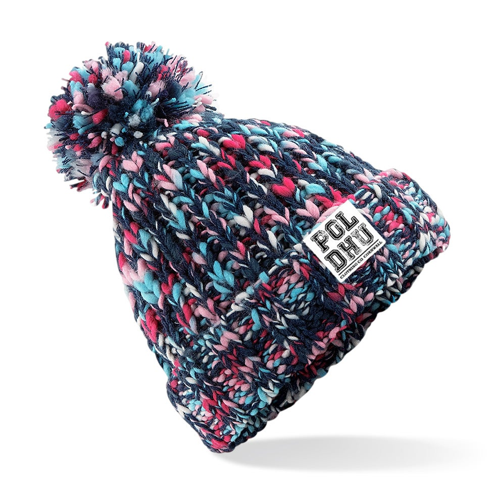 Image of TWISTER BOBBLE HAT - CANDY