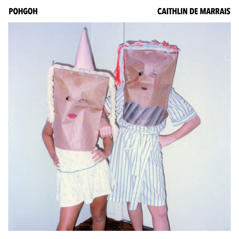 "Image of Pohgoh + Caithlin De Marrais ~ split 7"" (PINK!)"