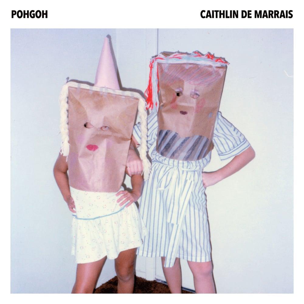"""Image of Pohgoh + Caithlin De Marrais ~ split 7"""" (PINK!)"""