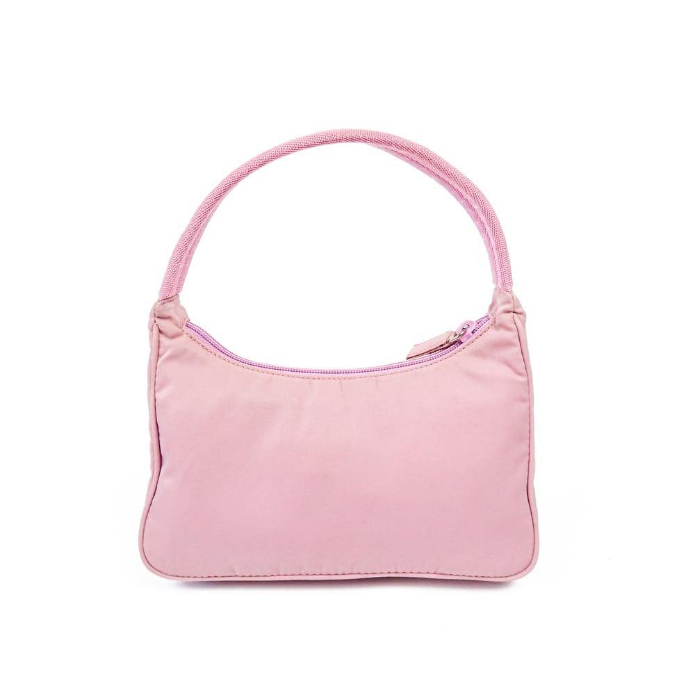 Image of Prada Nylon Hobo Bag