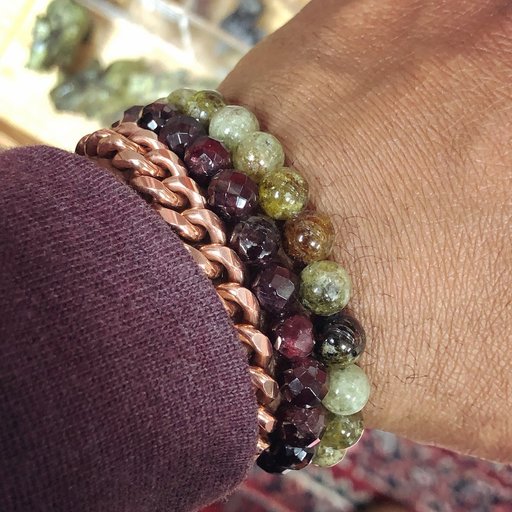 Image of Green Garnet Bracelet