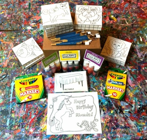 Image of *Deluxe* Paint Party in a Box