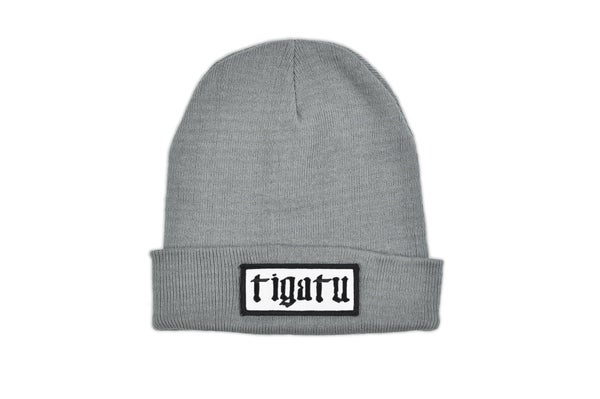 "Image of ""Shop"" Beanie - Grey"