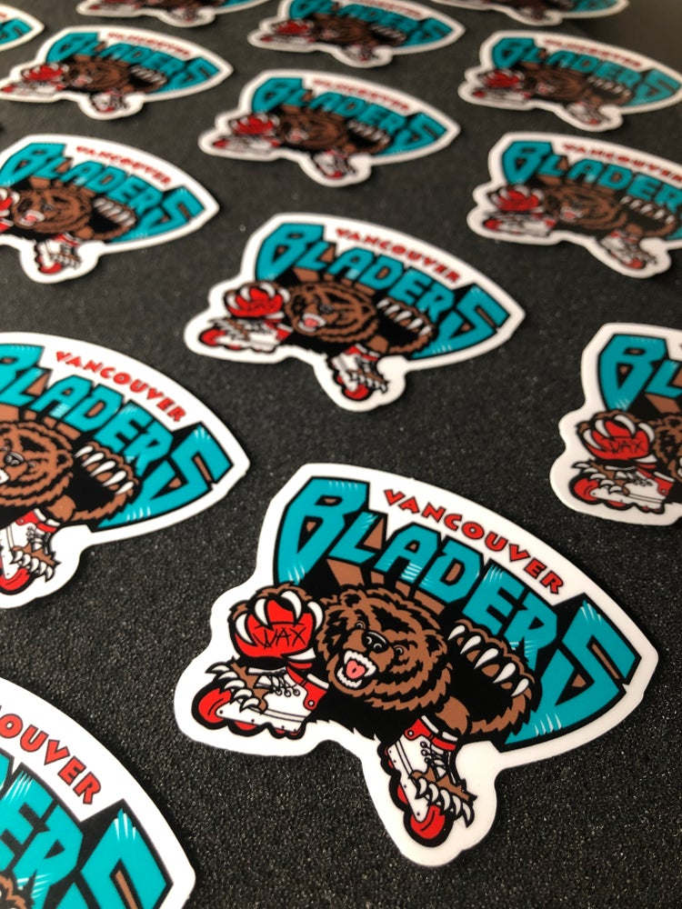 Image of Vancouver Bladers Sticker Pack