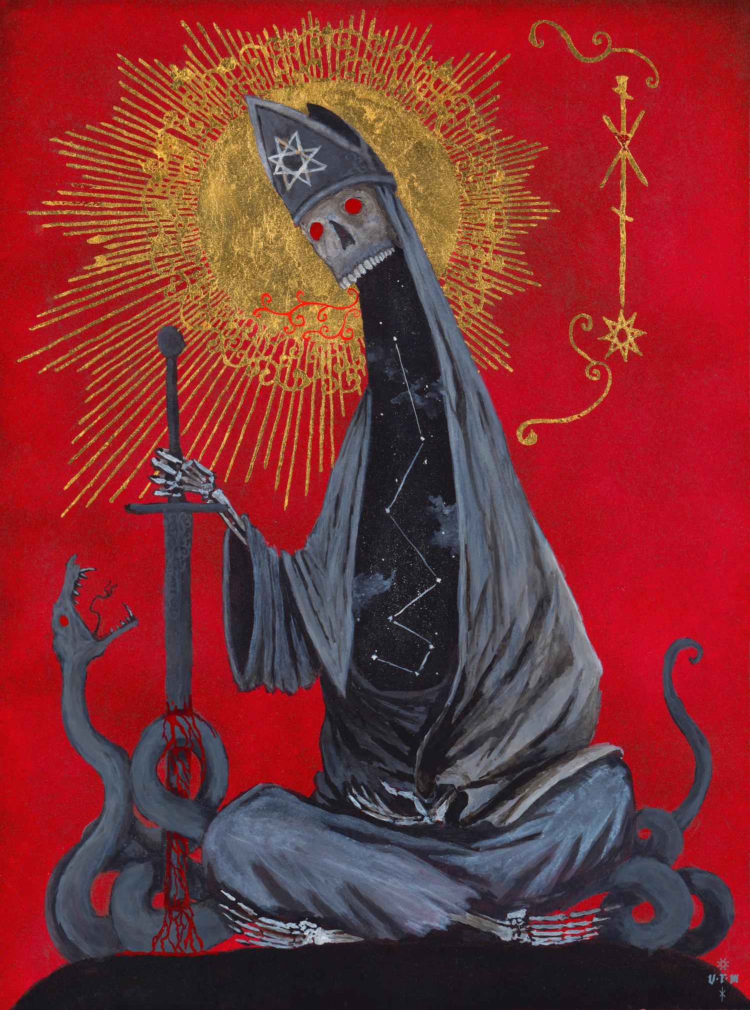 Image of Original painting: The Old Saints IX