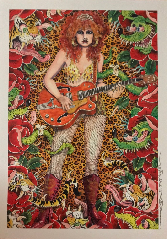 "Image of Tim Lehi ""Poison Ivy Fink"" Signed Poster"