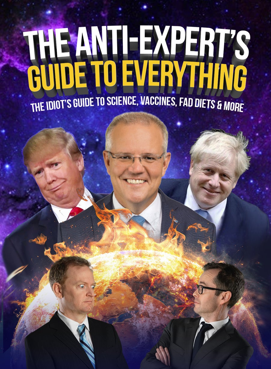 Image of The Anti Experts Guide To Everything - Live Show