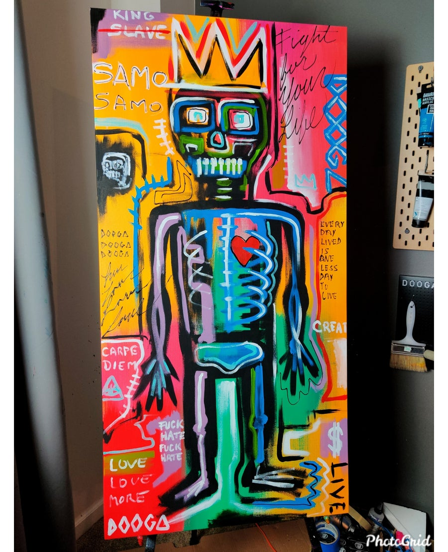 Image of King - Canvas Print
