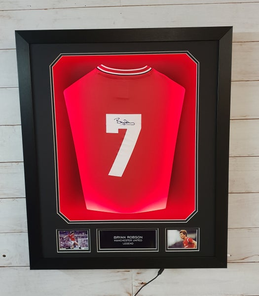 Image of Bryan Robson shirt