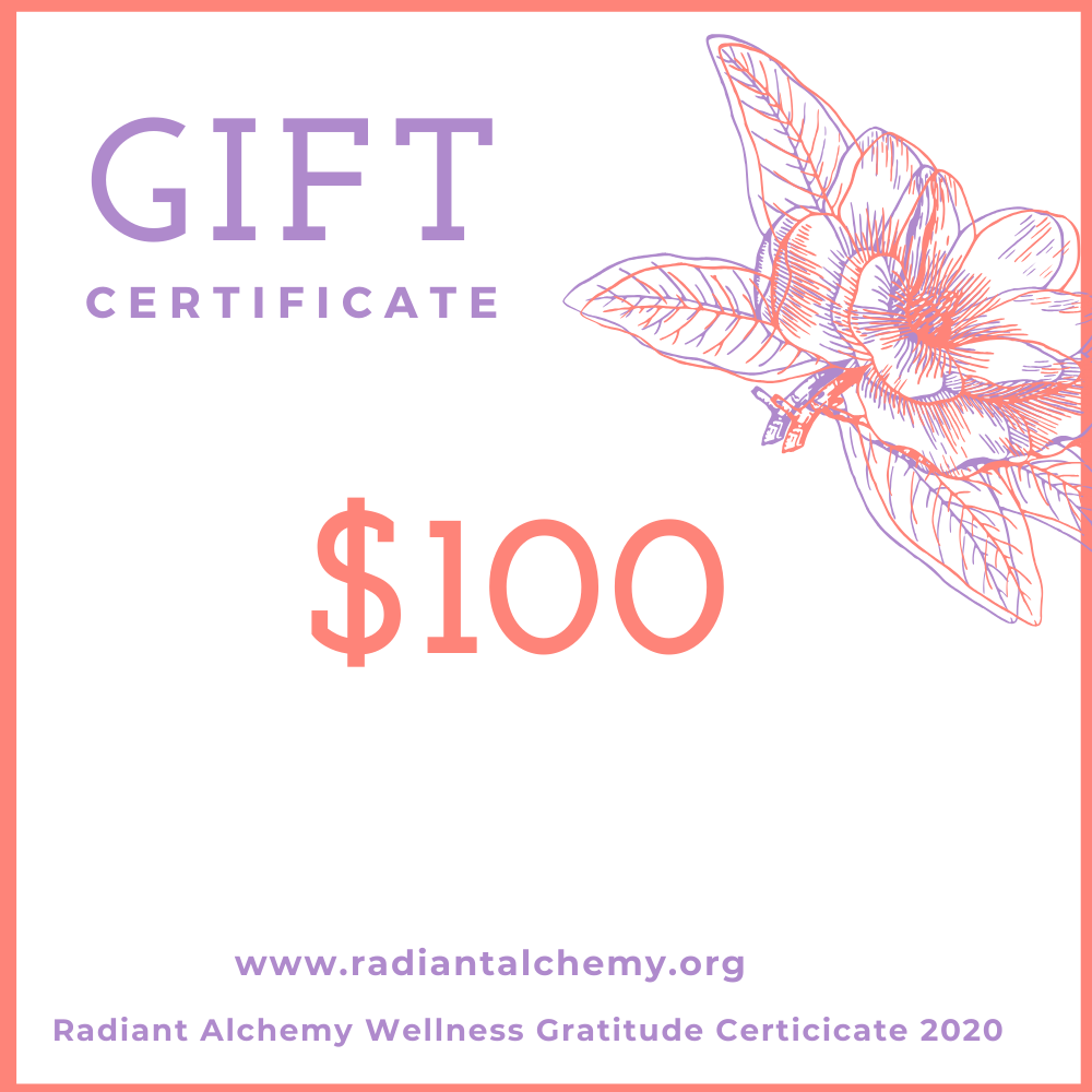 Image of Radiant Alchemy Wellness Gift Certificate